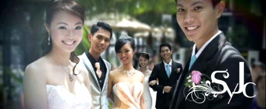 SYJC Wedding Montage at InterContinental Hotel, Singapore
