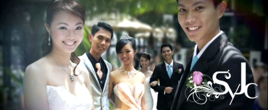 SYJC Wedding Montage at InterContinental Hotel, Singapore
