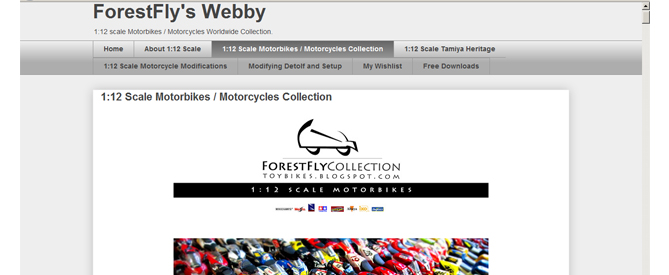 1:12 Scale Motorbikes / Motorcycles Collection Blog