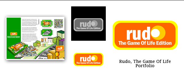 Rudo Logo by ForestFly Pictures