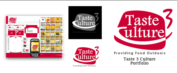 Taste3Culture Logo by ForestFly Pictures