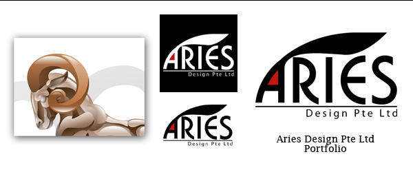 Aries Design Pte Ltd Logo [Portfolio] by ForestFly Pictures