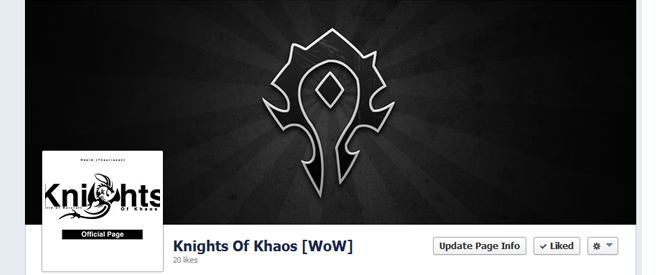 Knights Of Khaos Facebook Page