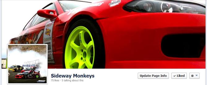 Sideway Monkeys Facebook Page