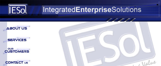 Integrated Enterprise Solutions Webdesign