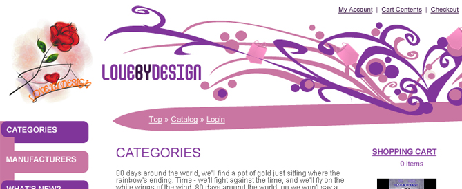 LoveByDesign Webdesign