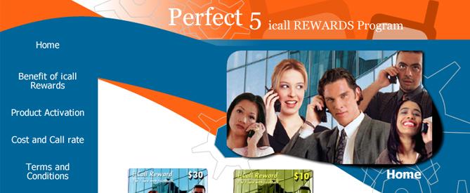 Perfect 5 Webdesign