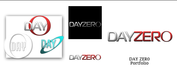 Day Zero Logo [Portfolio] by ForestFly Pictures