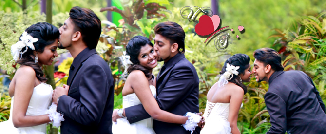 Uthayes & Shaallini Wedding Montage At Orchid Country Club, Singapore